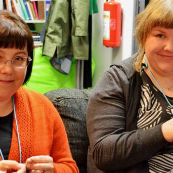 Radio Suomesta poimittuja: Bloggari ja kässämartta rohkaisevat ja kannustavat käsitöiden pariin