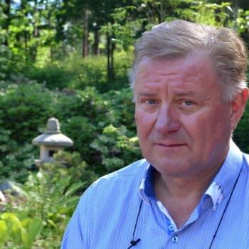 Sunnuntaivieras: Kaupunginpuutarhuri Heikki Laaksonen loihti Kotkan puistoista timantteja