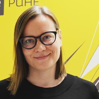 """Puheen Päivä: Katju Aro:""""Feministipuolue sijoittuu vihreiden ja vasemmiston väliin"""""""