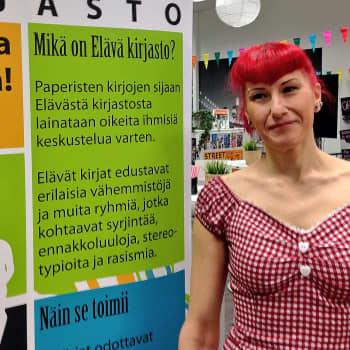 """YLE Kymenlaakso: Johanna Anttonen ADHD:n sävyttämästä arjestaan: """"Minulle asiat ovat helpompia kuin ihmiset"""""""