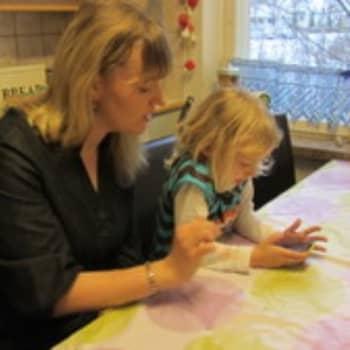 YLE Kymenlaakso: Perhepäivähoitaja Johanna Turkian arki
