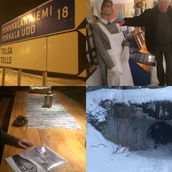 YLE Helsinki: Porkkalan palauttamisesta 60 vuotta – jäljellä on satoja bunkkereita ja kipeitä muistoja