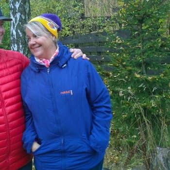 Sunnuntaikävelyllä: Sakari Oramo ja Anu Komsi