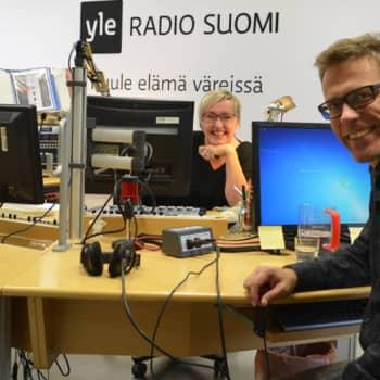 Radio Suomesta poimittuja: Jari ja Olga, sisäiset sankarit samassa studiossa