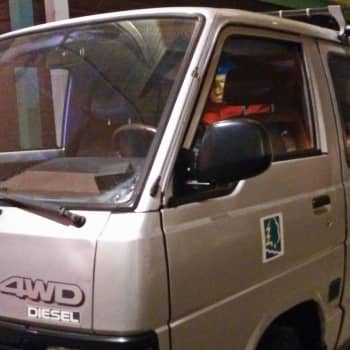 Metsäradio.: Pakettiauton tarina