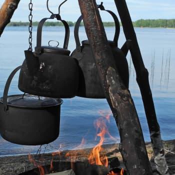Metsäradio.: Nokipannukahvi maistuu nuotiolla