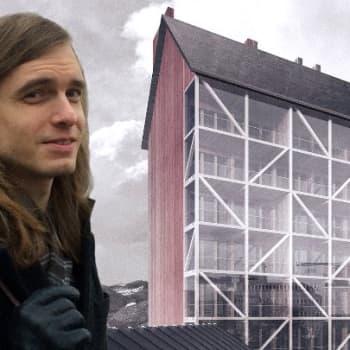 Rakenna minut: Lars Mattilan tulevaisuuden kerrostalo