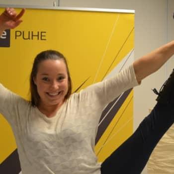 Taiteilijaelämää: Sirkus on Salla Hakanpäälle fyysinen mahdollistaja