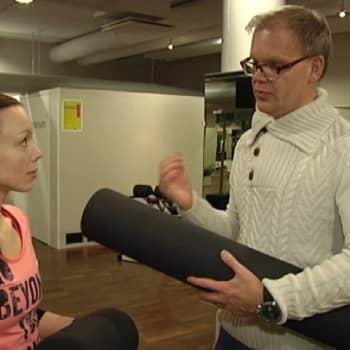 YLE Turku: Pilatesrulla vetreyttää monipuolisesti