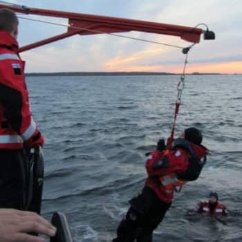 Jokapaikan Reetta: Meripelastusharjoituksissa Kotkassa