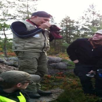 YLE Helsinki: Geologian opiskelijat kaivauksilla Liljendalissa