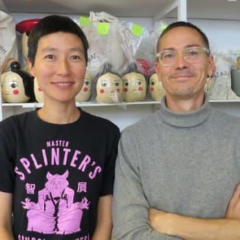 Taiteilijaelämää: Muotoilijapariskunta Johan Olin ja Aamu Song kunnioittavat perinteitä huumoria unohtamatta