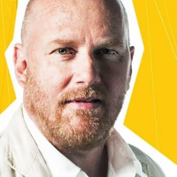 Petteri Sihvonen: Vieraana kirjailija Tuomas Kyrö
