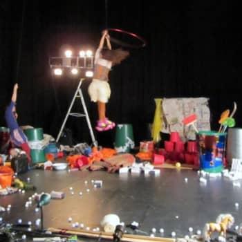 Jokapaikan Reetta: Clunker Circuksen treeneissä