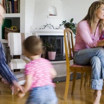 Perheen aika: Vanhemmat ovat huolissaan omasta jaksamisestaan