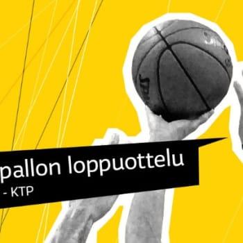 Urheiluilta: Koripallon neljäs SM-loppuottelu KTP - Bisons