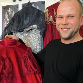 Taiteilijaelämää: Pukusuunnittelija Tuomas Lampinen
