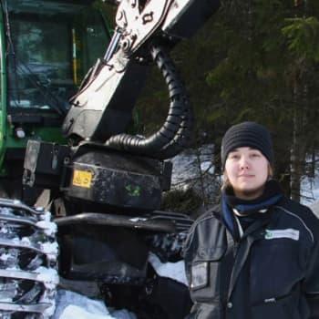 Metsäradio.: Metsäkoneenkuljettajien koulutus Kurussa