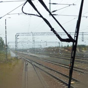 YLE Kainuu: Veturikuskit ovat pitkien suorien miehiä