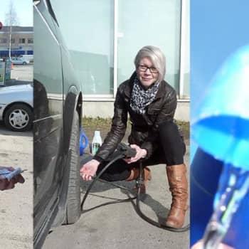 Yle Perämeri: Naisellinen keväthuolto autoon