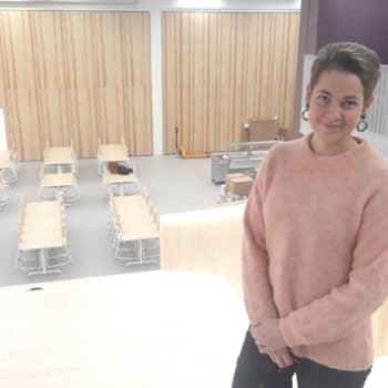 Nya Chydenius skola i Karleby möjliggör olika lärmiljöer