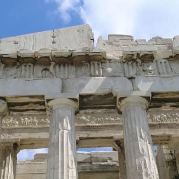 Antiikin koululaitos ja kirjasto
