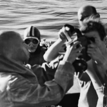 Sukellus fregatti St. Nikolaille