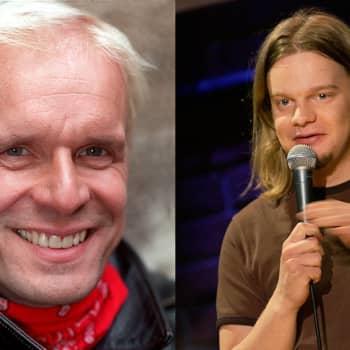 Jukka Puotila ja Ismo Leikola kertovat stand upin tekemisestä