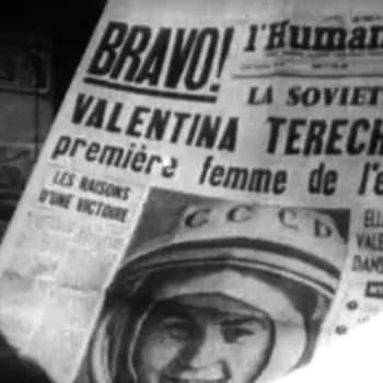 Ensimmäinen naiskosmonautti Valentina Tereshkova