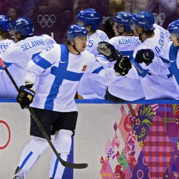 Suomi—USA 2. erä Sotši 2014
