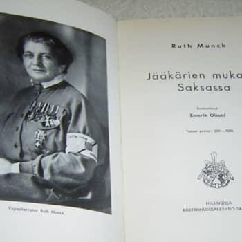 Ruth Munck ja Saara Rampanen muistelevat jääkäriaikoja