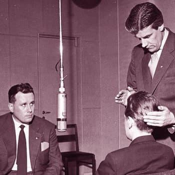 Hypnoottisia kokeita Yleisradiossa