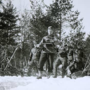 Finska soldater på sjukhus i Stockholm