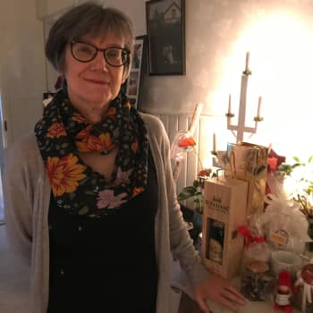 Carita Löfmark blickar tillbaka på livet som kötthandlare i Vasa Saluhall