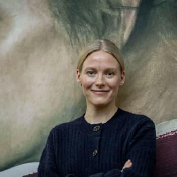 Silja Sahlgren-Fodstad och Marica Hildén diskuterar filmen om Helene Schjerfbeck