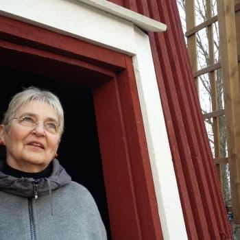Arkitekt Kirsti Horn brinner för bevarandet av våra väderkvarnar