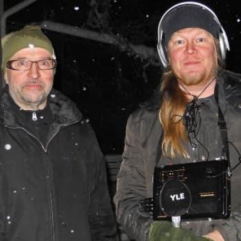 Luontoretki.: Heinolan lintutarhalla 15.1.2012