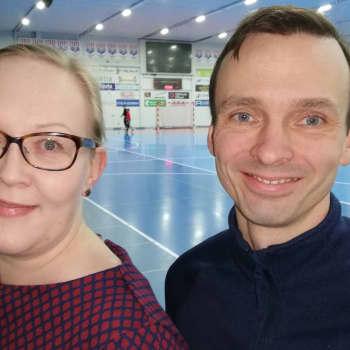 Familjen Långvik kunde skaffa sig ett stort hus i Karis