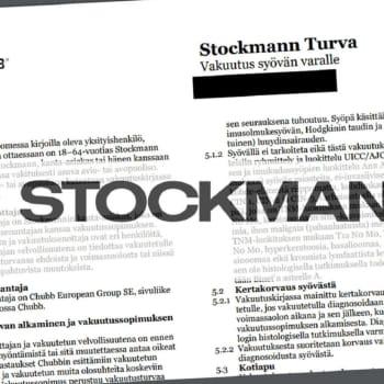 Försäljning av Stockmann-cancerförsäkring kritiseras