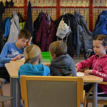 Populärt sportlovsläger för barn i Sjundeå