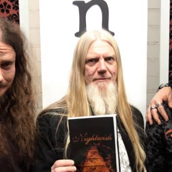 Nightwishin bändikemia kunnossa - Human Nature valmis