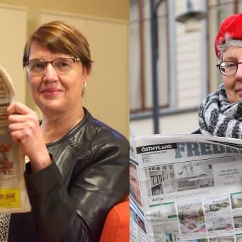 Västra Nyland och Östnyland blev tvådagarstidningar - hur gick det med antalet prenumeranter och annonsörer?
