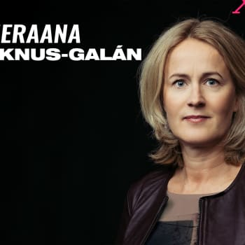 """Vieraana Minna Knus-Galán: """"Ei me puhuta asekaupasta, vaan vanhoista vaatteista!"""""""