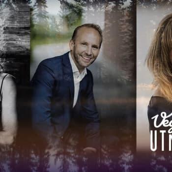 Helen Nyberg, Erik-André Hvidsten och Thomas Enroth gästar Vegatoppen