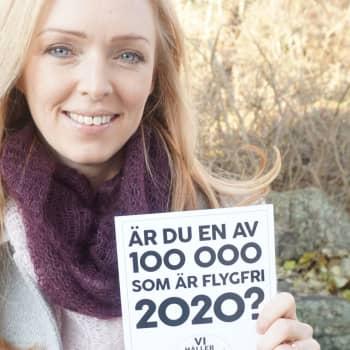 """Svenskarnas flygande fortsätter minska – """"Ingen behöver nöjesflyga mitt under pågående klimatkris"""""""