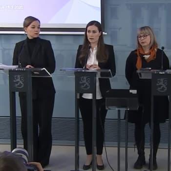 Hallituksen tiedotustilaisuus koronavirustilanteesta ja toimenpiteistä 16.3.2020