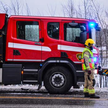 Dödsolycka på väg 170 i Borgå