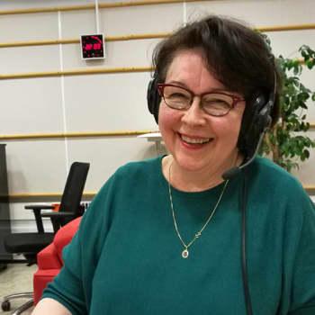 Juontajina pianotaiteilija Marita Viitasalo ja toimittaja Risto Nordell