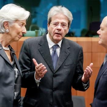 """Miten euroalue pelastetaan talouskriisin syövereistä? - """"Me olemme nyt vedenjakaja-tilanteessa"""""""