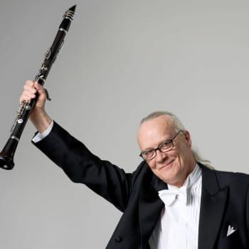 Klarinettisten John Alén är studiogäst